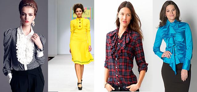 Женское модное Жабо