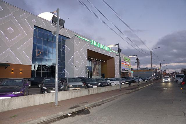 Магазин женских платьев на Выборгском шоссе,