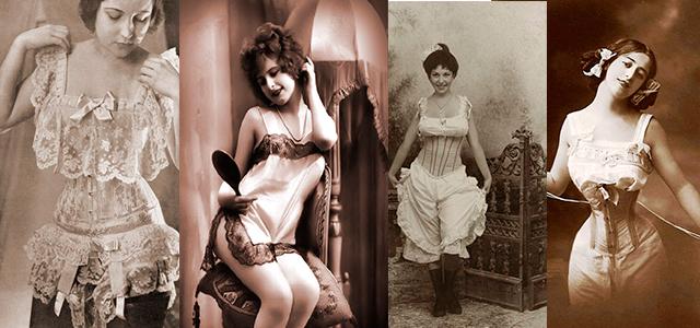 история в фото женского нижнего белья