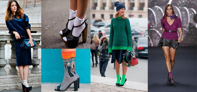 Фото женских носок