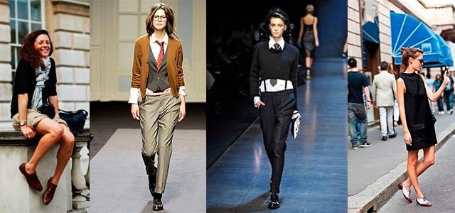 Модные женские Оксфорды