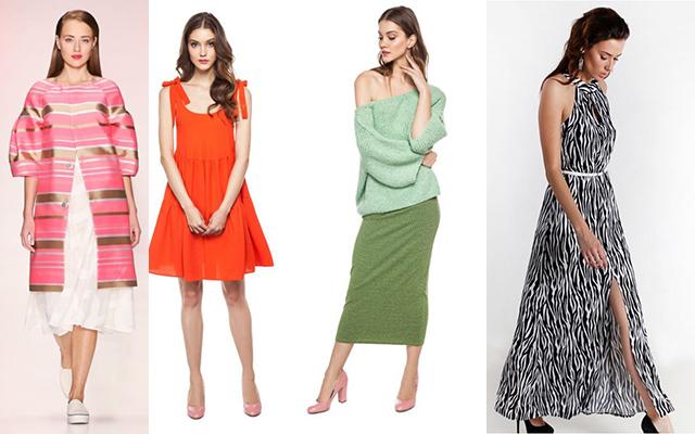 Коллекции женской одежды весна-лето